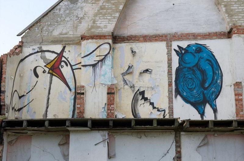 A vila condenada de Doel e sua arte de rua surpreendente 15