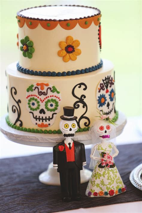 Day Of The Dead Wedding   Rustic Wedding Chic