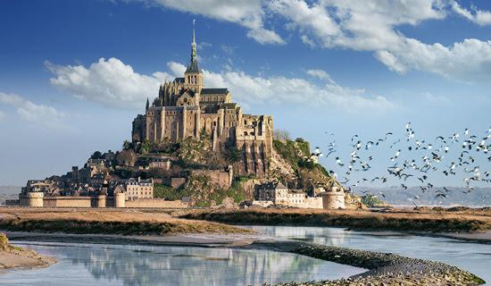 Monte Saint Michel, viagem, turismo, roteiros europeus, França, Normandia, Dia D, desembarque na França, Rollo, Ducado da Normandia, agência de viagens, férias, pacotes internacionais, agências Porto Alegre, pacotes baratos