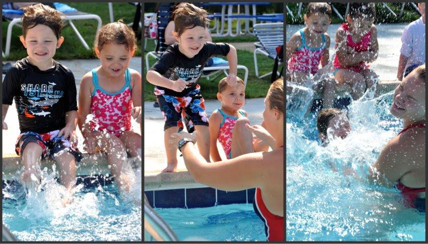 Splashing and Jumping
