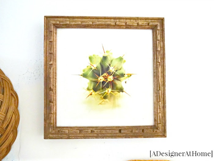 in a space without natural light, photograph art of my favorite plants brings the plant look to a space that can't have any