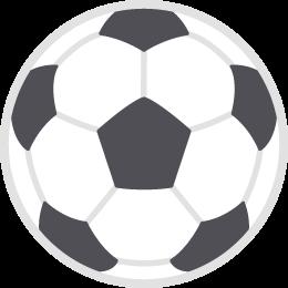 サッカーボールの無料ベクターイラスト素材 Picaboo ピカブー