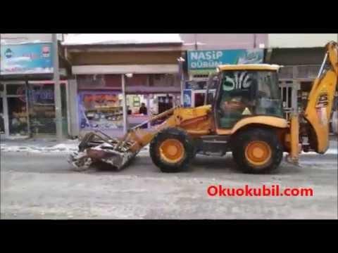 Konya Ereğli Belediyesi Kar Mücadelesi.