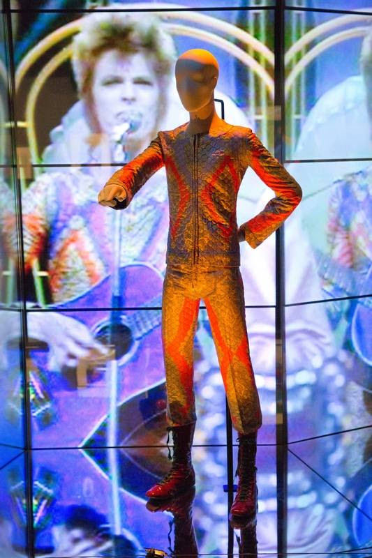 """The """"David Bowie Is"""" exhibit will be featured more chronologically in Chicago than in past spots, such as the Victoria and Albert Museum in London."""