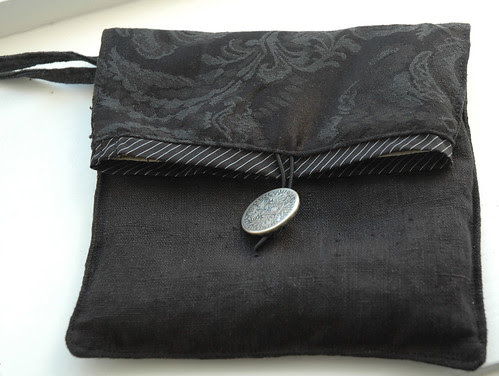black pouch :: sort veske #2
