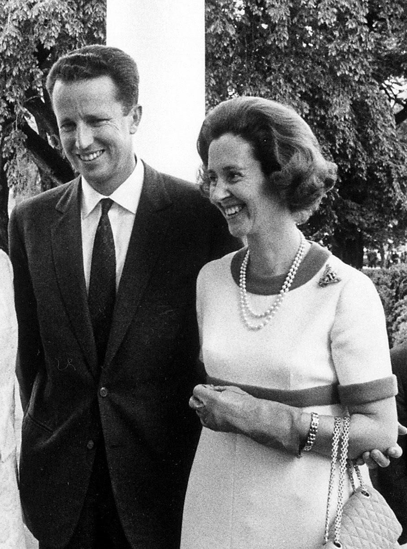 S.M. el Rey Balduino I junto con la Reina Fabiola.