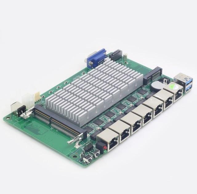 Best Offers Pfsense 6 LAN Gigabit Ethernet Motherboard Mini