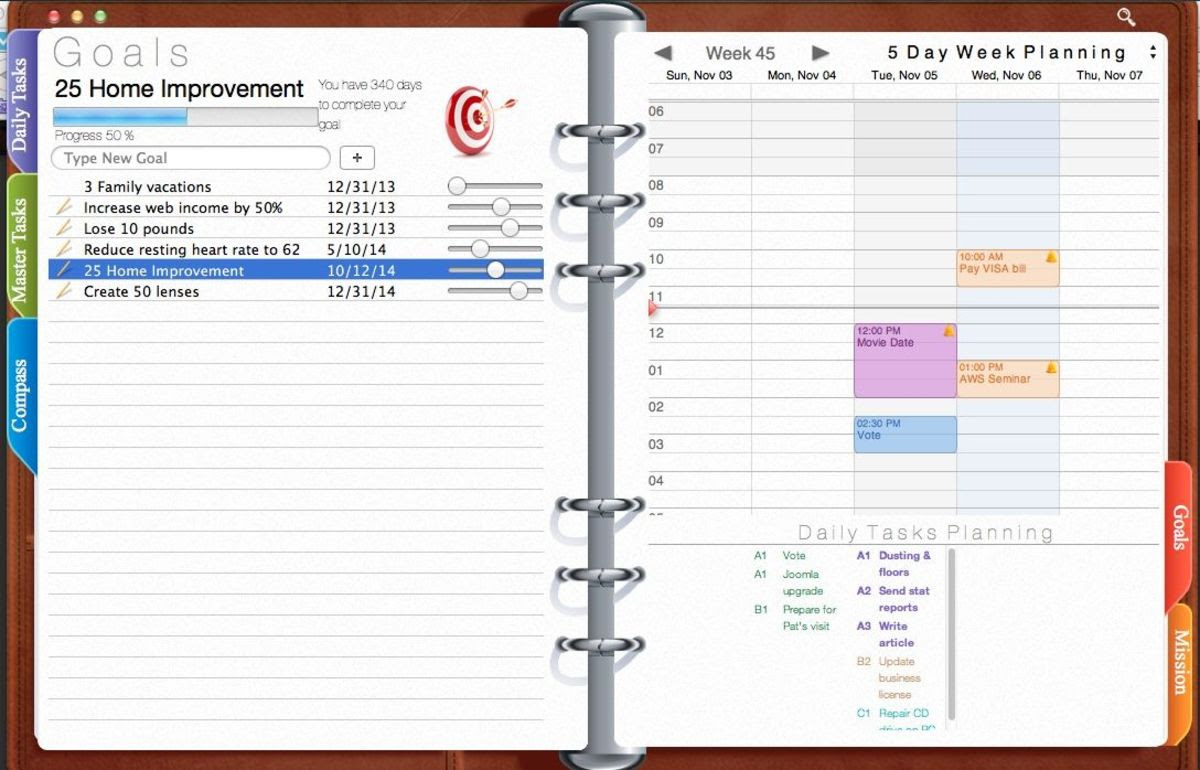 How to Use Opus Domini Day Planner app for Franklin Covey Fans