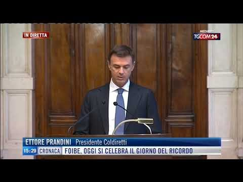 """Coldiretti, Prandini da Draghi: """"Ripartire dall'agroalimentare"""""""