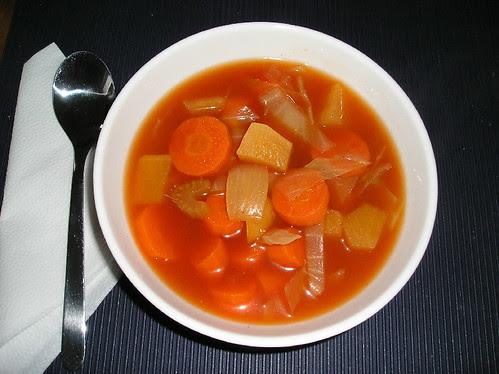 Soupe aux Légumes Style Laurier