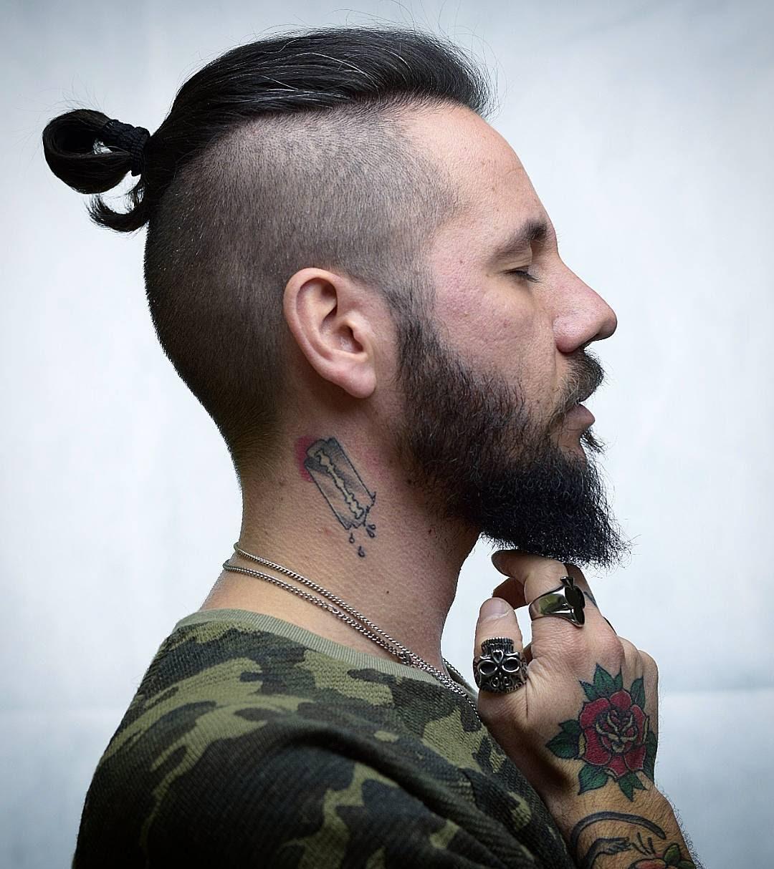 Mind Blowing Men Long Hair On Top 2018 Mens Haircuts Mens