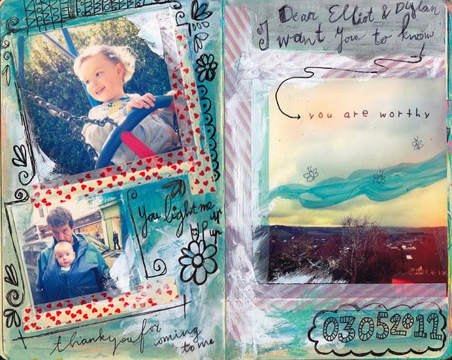 Dylan & Elliot Art Journal - p1