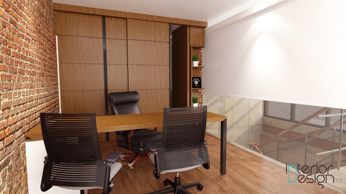 Ruang Notaris Rumah Kantor Cirebon InteriorDesignid