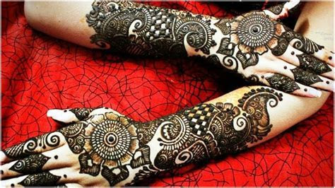 51  Most Beautiful Bridal Mehndi Designs   Download Free
