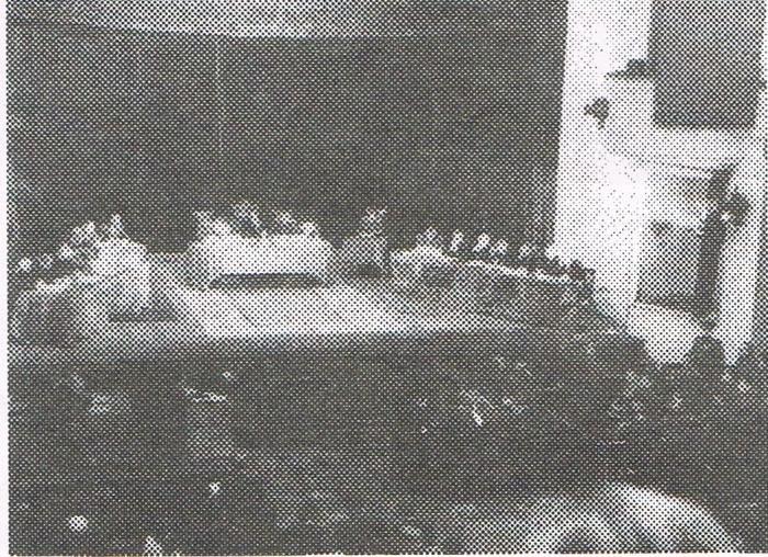 ハバロフスク裁判の様子