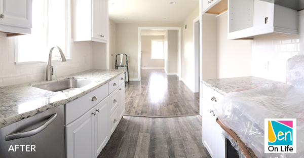 Beach Bungalow Kitchen Remodel Before After Jen On Life