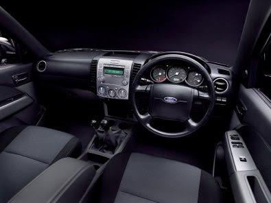 Ford Ranger 2009 Interior