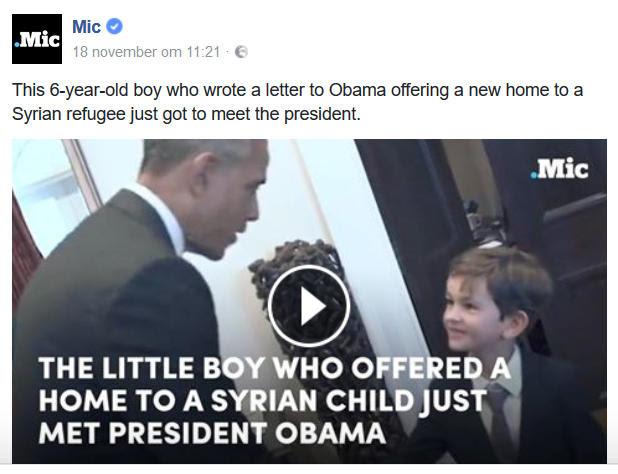 Alex en Obama