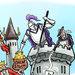 A cartoon on Carl Icahn's Web site.