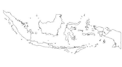 Peta Indonesia Peta Buta Pulau Indonesia