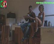 Mariana Monteiro sensual no filme A Casa das Mulheres