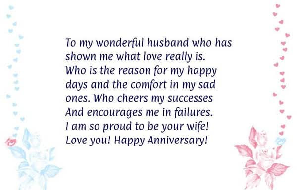 Top Happy Anniversary Quotes For Him