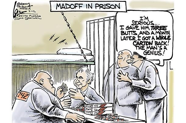 Madoff w nowym miejscu pobytu