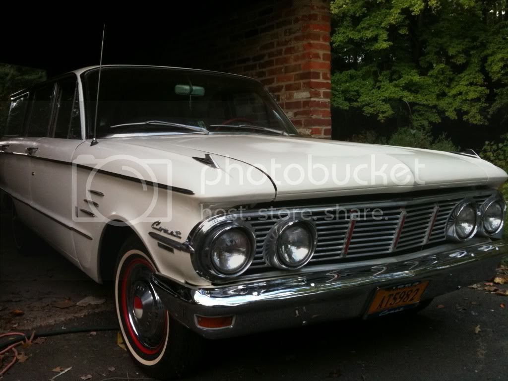 My 1963 Mercury Comet wagon