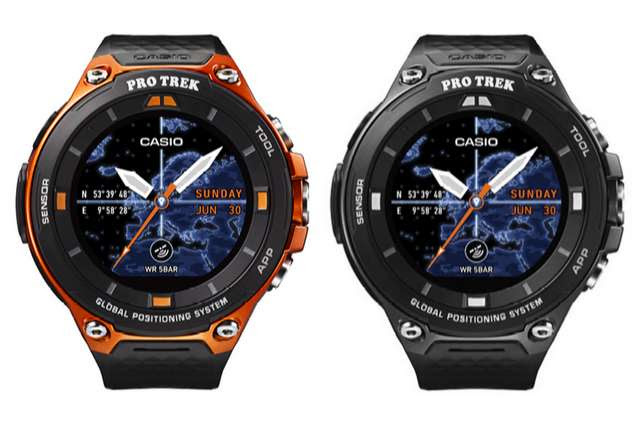 Casio Outs WSD F-20 Rugged Android Wear Smartwatch with Dual Layer Display