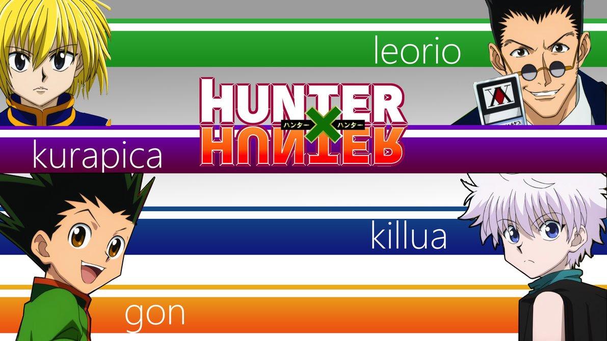 Hunter X Hunter Characters Kurapica Leorio Gon Killua Image