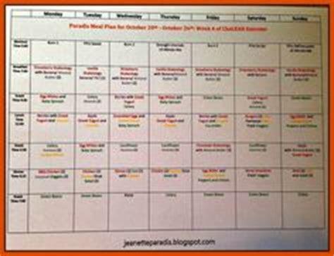 chalean extreme week  meal plan  progress update