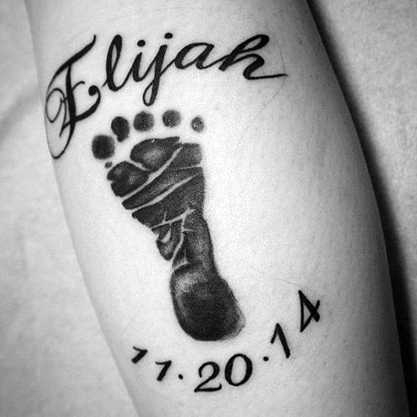 50 Kids Name Tattoos For Men Cool Children Design Ideas