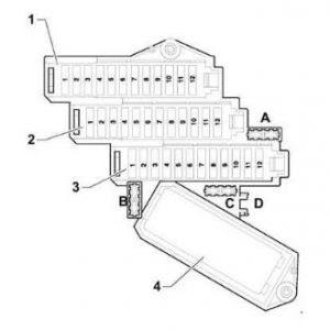 Audi A8 Fuse Box Diagram Passenger