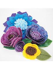 Flower Shop No-Sew Flowers Sewing Pattern