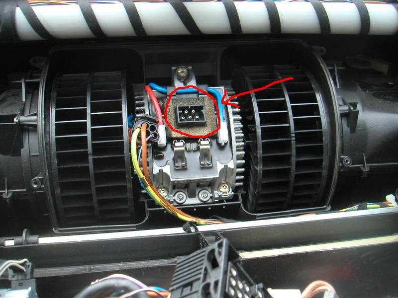 Blower fan does not come on on a 1997 bmw 740il