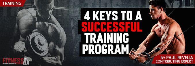 4 Keys To A Successful Training Program
