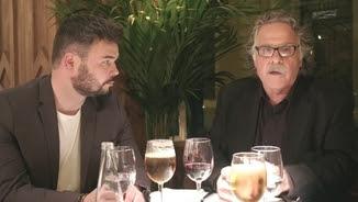 """Rufián sopa amb Tardà al """"Fora de sèrie"""""""
