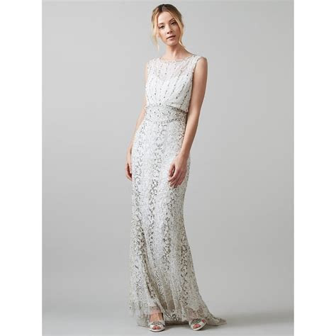 Phase Eight Joanna Beaded Bridal Gown (£595)   Affordable
