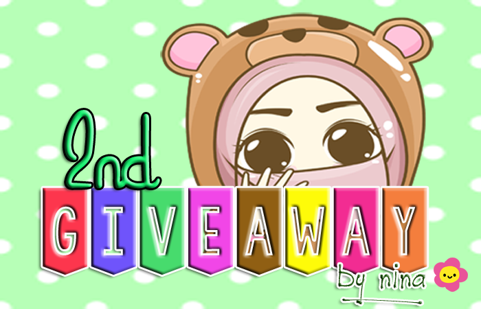 2nd Giveaway by Nina