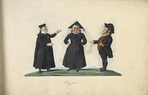 Portugal costumes in watercolour album