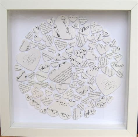 118 best 1st Wedding Anniversary Paper (Modern Gift  Clock