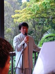 Jackie Chan @ Botanical Gardens