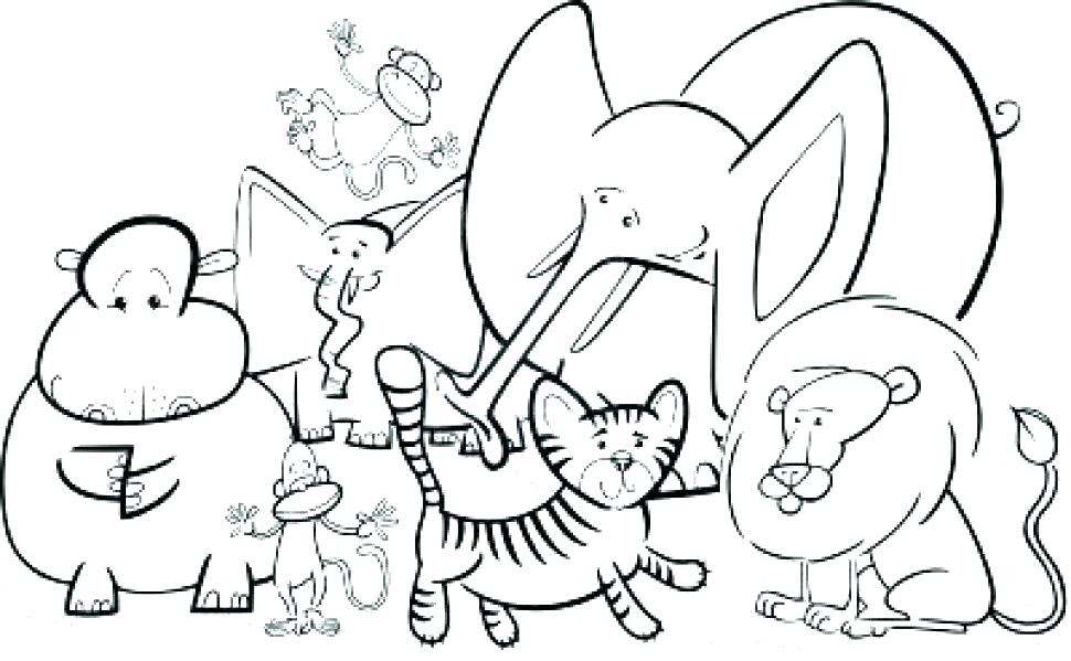 74 Free Printable Coloring Pages Jungle Animals Best HD