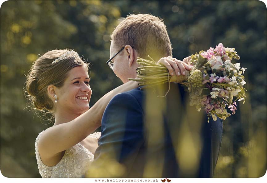 Beautiful moment with bride and groom, Suffolk - www.helloromance.co.uk