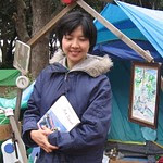 在東京的公園與街頭搭帳棚長達10年的女性藝術家市村美佐子(Misako Ichimura ; いちむら みさこ)