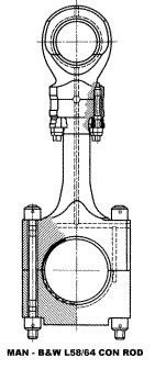 The Four Stroke Engine Connecting Rod