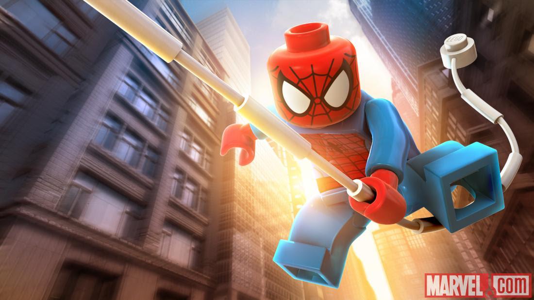 LEGO Marvel Avengers - ספיידרמן מגיע לבקר