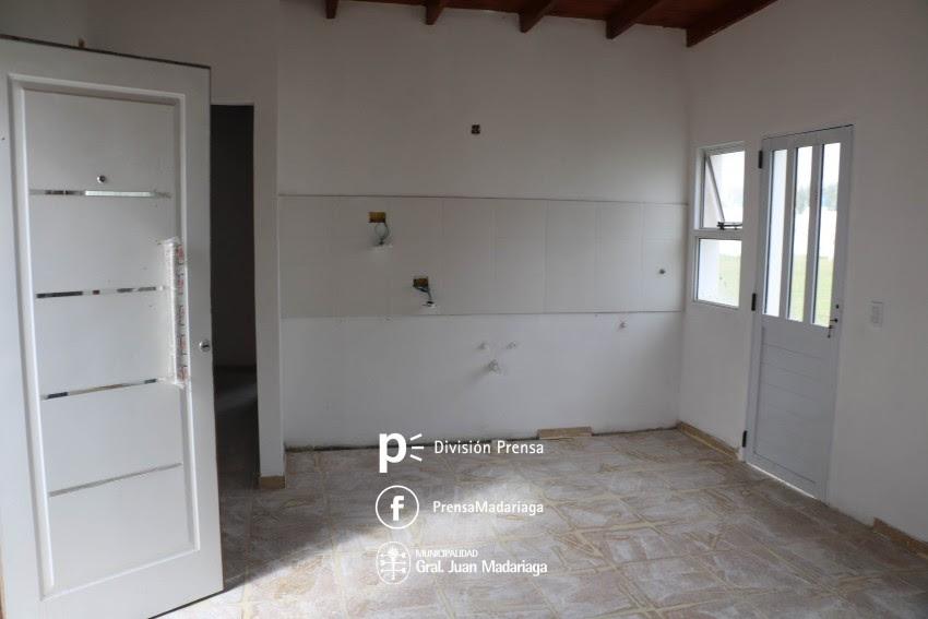 Viviendas sociales del barrio Belgrano: La obra se encuentra en etapa