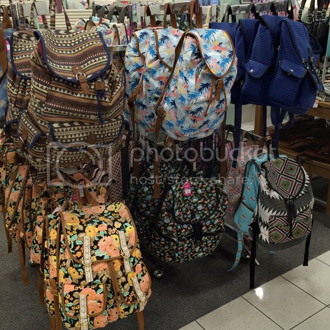 Kohls Printed Backpacks Fall2015