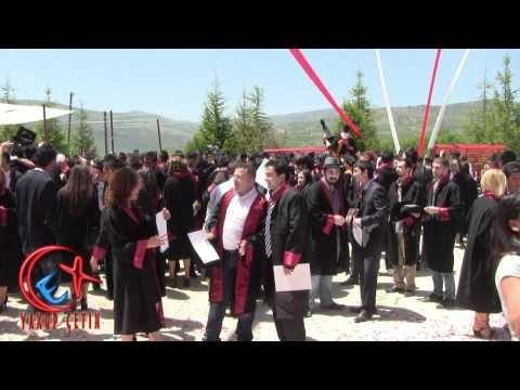 Kep Atma Töreni - Bozkır Meslek Yüksek Okulu 2011-2012 Dönemi Mezuniyet Töreni